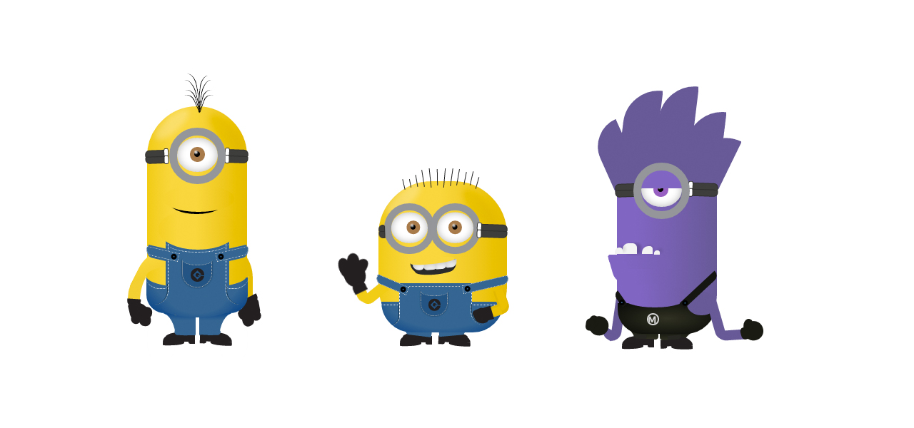 amr zakaria, minions in pure css