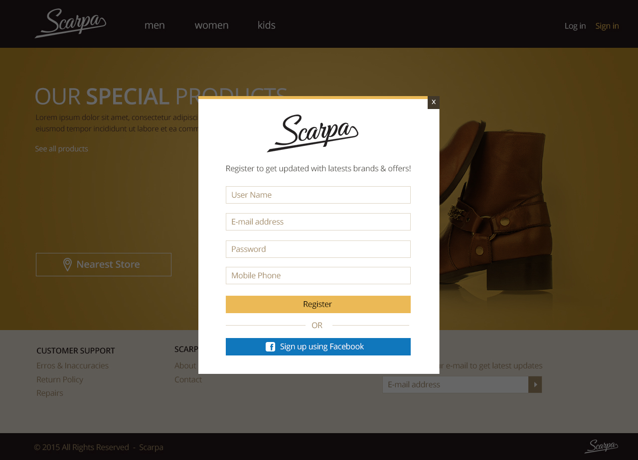 scarpa, online store, shoes